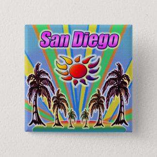 San Diego Summer Love Button