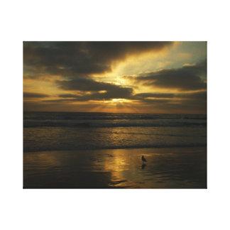 San Diego Summer Sunset Canvas Print