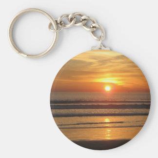 San Diego Sunset 2 Keychain