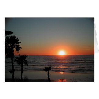 San Diego Sunset at Pacific Beach Greeting Cards