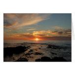 San Diego Sunset Card