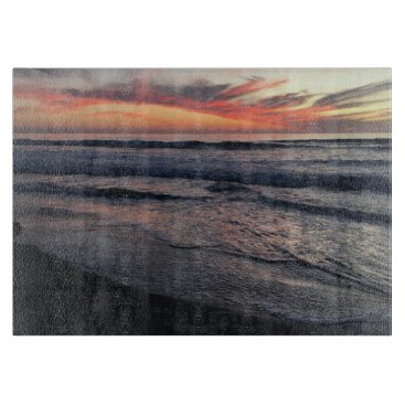 San Diego Sunset Cutting Board