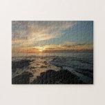 San Diego Sunset I California Seascape Jigsaw Puzzle