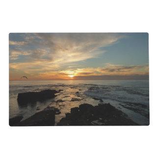 San Diego Sunset I California Seascape Placemat