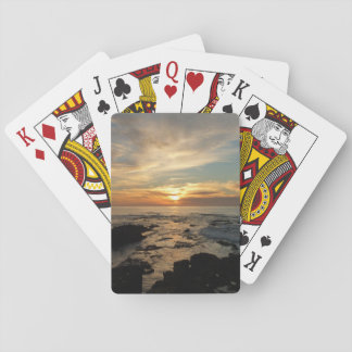 San Diego Sunset I California Seascape Playing Cards
