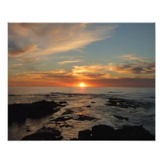 San Diego Sunset II California Seascape Photo Print