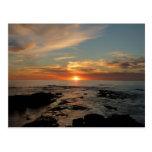 San Diego Sunset II California Seascape Postcard