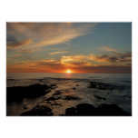 San Diego Sunset II California Seascape Poster
