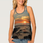 San Diego Sunset II California Seascape Tank Top