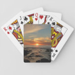 San Diego Sunset II Landscape Photography Playing Cards