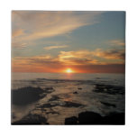 San Diego Sunset II Landscape Photography Tile