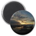 San Diego Sunset III Stunning California Landscape 2 Inch Round Magnet