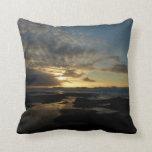 San Diego Sunset III Stunning California Landscape Throw Pillow