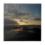 San Diego Sunset III Stunning California Landscape Tile