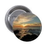 San Diego Sunset Landscape Photography 2 Inch Round Button