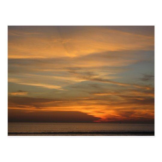 San Diego Sunset Postcard