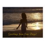 San Diego Sunset Postcards