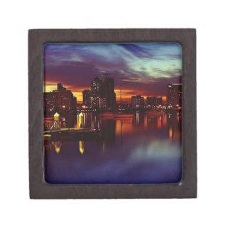 San Diego Sunset Skyline Gift Box