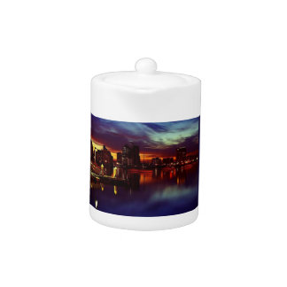 San Diego Sunset Skyline Teapot
