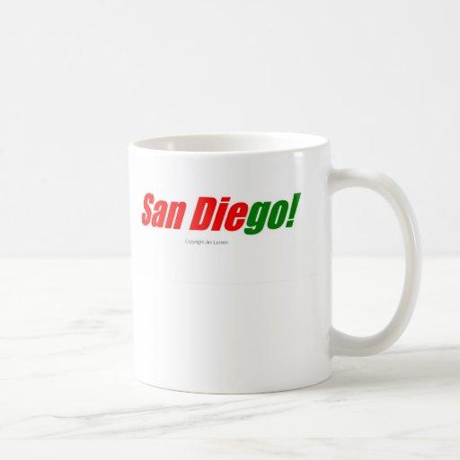 San Diego Taza Básica Blanca