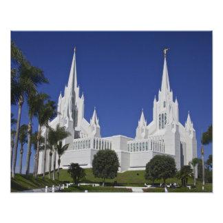 San Diego Temple Photo Print