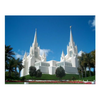 San Diego Temple Postcard