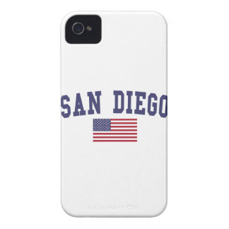 San Diego US Flag Case-Mate iPhone 4 Case