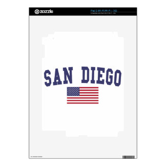 San Diego US Flag iPad 2 Skin