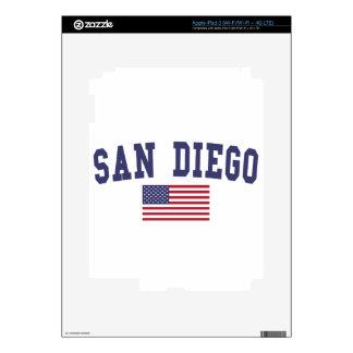 San Diego US Flag iPad 3 Decal