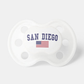 San Diego US Flag Pacifier