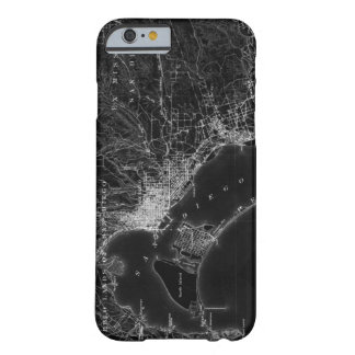 San Diego Vintage Map iPhone 6 Case