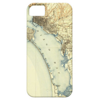 San Diego Vintage Map iPhone SE/5/5s Case