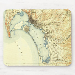 Vintage San Diego Map.Vintage San Diego Map Electronics Tech Accessories Zazzle