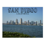 San Diego - vista del centro de la ciudad de la Postal