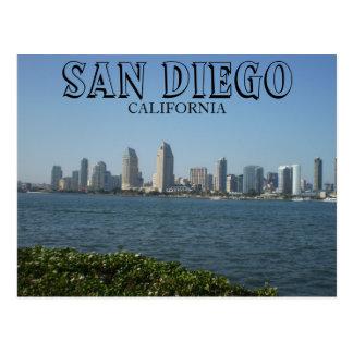 San Diego - vista del centro de la ciudad de la Tarjetas Postales