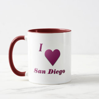 San Diego -- Wine Mug