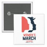 San Diego Women's March Button