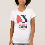 San Diego Women&#39;s March T-Shirt<br><div class='desc'>We, San Diego Women's March, are peacefully marching in San Diego in solidarity with the Women's March in DC. We are dedicated to a free and open society. Together we stand united in our respect for all people and we resist the marginalization of anyone. As a diverse, inclusive community of...</div>