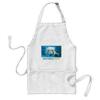 San Diego Zoo Polar Bear Adult Apron