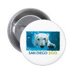 San Diego Zoo Polar Bear Button