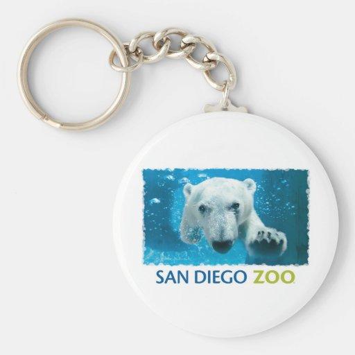San Diego Zoo Polar Bear Key Chain