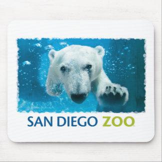 San Diego Zoo Polar Bear Mouse Pad