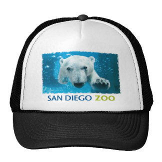 San Diego Zoo Polar Bear Trucker Hat