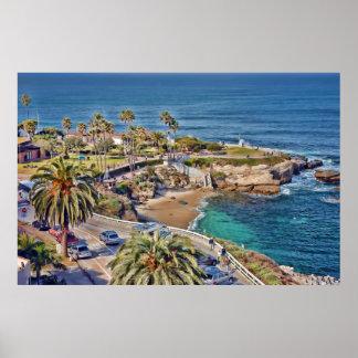San Diego's La Jolla Cove Poster
