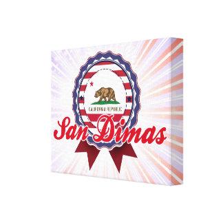 San Dimas, CA Impresiones De Lienzo