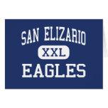 San Elizario - Eagles - High - San Elizario Texas Greeting Card
