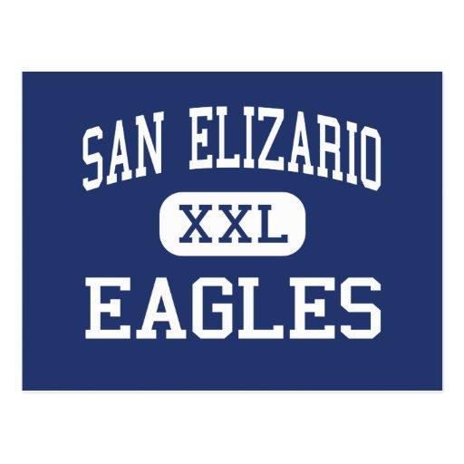 San Elizario - Eagles - High - San Elizario Texas Post Cards