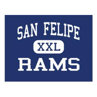 San Felipe Rams Middle School Del Rio Texas Postcard