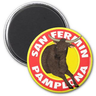 San Fermin de Pamplona Magnets