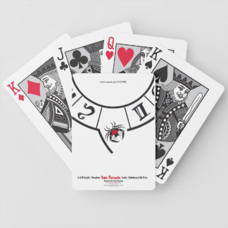 San Fermin Edition Festival Bicycle Playing Cards